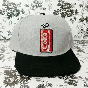 Official Coca Cola embroidered soda trucker hat